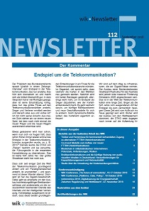 Wik Newsletter Nr. 112