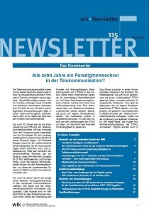 Wik Newsletter Nr. 115