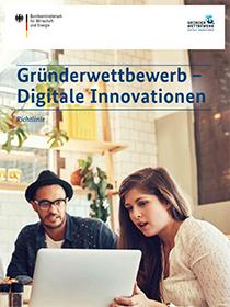 Cover der Publikation Gründerwettbewerb - Digitale Innovationen