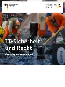 Cover der Publikation IT-Sicherheit und Recht