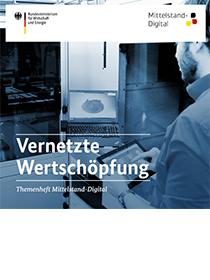 Cover der Publikation Vernetzte Wertschöpfung